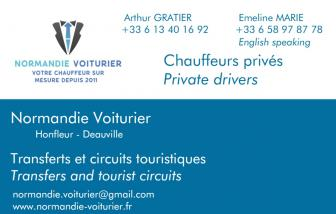 NORMANDIE VOITURIER, VTC en France